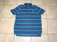 ABERCROMBIE & FITCH MENS POLO GOLF SHIRT (MUSCLE) SZ XL