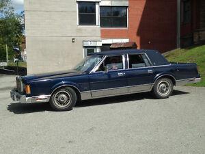 lincoln town car 1989
