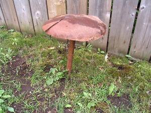 Metal Art Work Garden  Mushrooms