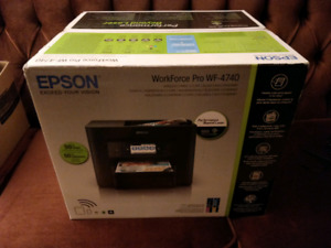 Epson WorkForce Pro 4740 All-in-one Printer Brand New In Box