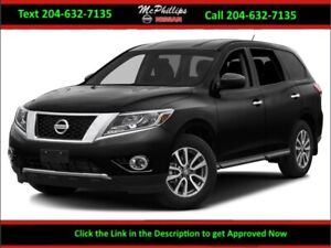 2014 Nissan Pathfinder S 4x4 - LOCAL TRADE / NISSAN CERTIFIED