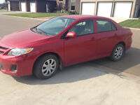 GREAT DEAL- 2012 Toyota Corolla CE (like new)