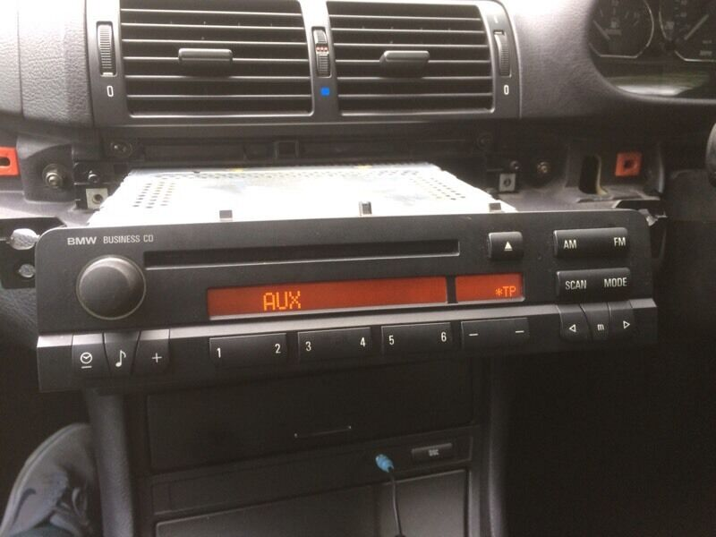 Bmw E46 Business Radio Stereo Cd Player Aux Model 3 Series Coupe Rhgumtree: Bmw Business Radio At Gmaili.net