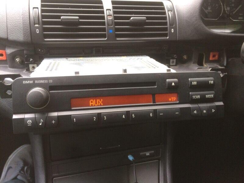 Bmw E46 Business Radio Stereo Cd Player Aux Model 3 Series Rhgumtree: Bmw Business Radio At Gmaili.net