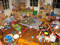 Too Many Toys? Kid Won't Clean up?