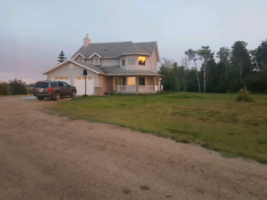 House for rent on acreage clairmont