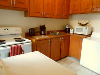 5 1/2 all inclusive,furnished,3 beds,private patio,weekly