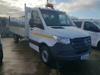 Mercedes-Benz Sprintereuro6 314/35 4metre alloy dropside tailift very low miles