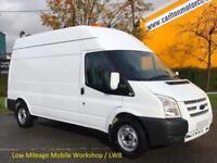 2013/ 13 Ford Transit 125 350 Lwb High Roof [ Workshop + A/C Nav ] van Rwd