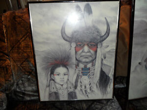 NATIVE ART, AMY FRANKS PRINTS 16 X 20 INCHES $50 EACH. Prince George British Columbia image 3