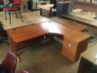 Rosewood managers desk