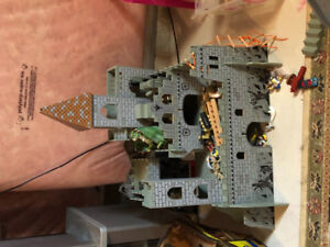 Imagination castle and pirate ship