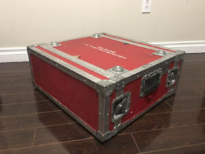 Flight Case for Transportation Red Color