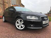 *12 MTHS WARRANTY*2009(09)AUDI A3 1.9 TDI SPORT 5DR*NEW TIMING BELT FITTED*
