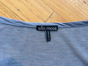 Anthropologie Ella Moss draped tops,M. Like New 2 for $30! Strathcona County Edmonton Area image 4