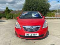 2013 Vauxhall Meriva 1.4 SE 5DR MPV Petrol Manual