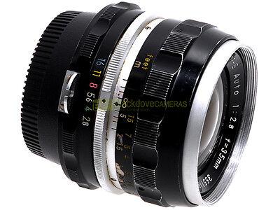 Nikon obiettivo Nikkor S Auto 35mm. f2,8. Garanzia 12 mesi. 35/2,8. 35 mm.