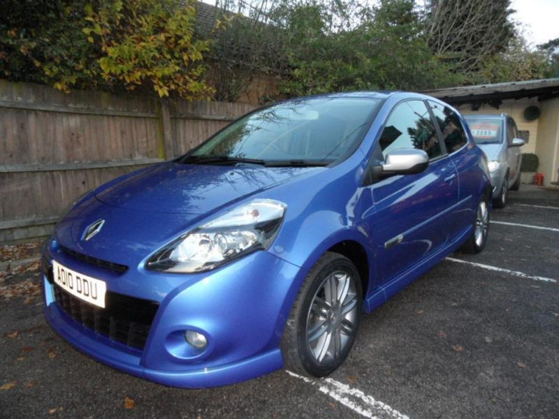 10 (10) RENAULT CLIO 1.6 GT 3DR ONE LADY OWNER FROM NEW !!
