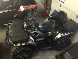 LIKE NEW!! 250 MILES!! 2014 Sportsman 850 Touring Limited!!