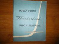 1967 Ford Thunderbird Repair Shop Manual