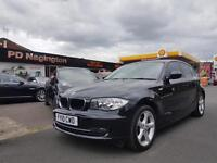 2010 BMW 1 SERIES 116d Sport + FULL BLACK LEATHER