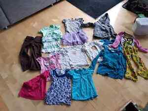 Girl lot of clothing from 3 to 6 years