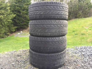 Four BridgeStone 215/50R17 Summer Tires