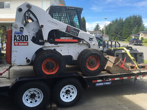 Need Gone...OBO - 2008 Bobcat A300 + Trailer + Attachments