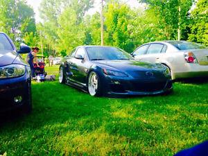 2010 Mazda RX-8 R3 et mazda miata 1.8