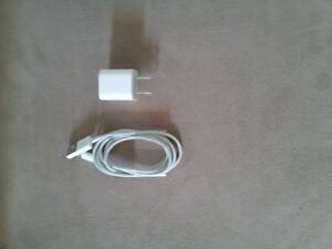 Original iPhone charger cord and block