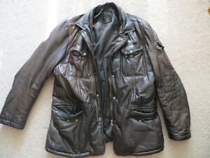 Genuine Fall/Winter Leather jacket