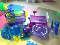 CritterTrail Hamster Cage & Accessories