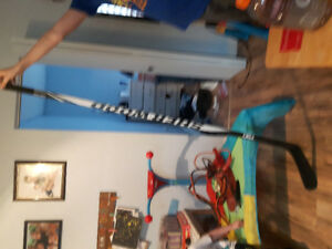 slightly used sherwood t90 hockey stick 95flex