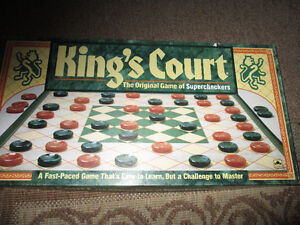 Kings Court board game Vintage