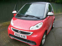 Smart fortwo 1.0 mhd ( 71bhp ) Softouch 2012MY Pulse