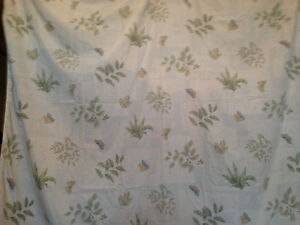 Queen Complete Duvet Set + 2 Complete Sheet Set with Bed Skirt London Ontario image 1