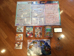 HUGE POKEMON PACKAGE WITH 3DS!!