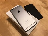 iPhone 6 Plus 64Gb with Apple Leather Case