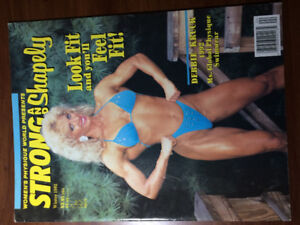 Strong and Shapely  women's fitness mag 5 issues