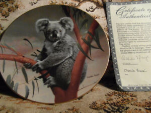 Collector Plates (Bradford Exchange) by Charles Frace, Nature's