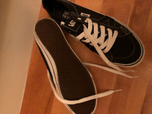 Vans sneakers for female size 8.