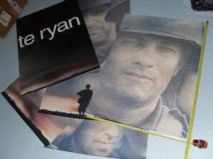 Saving Private Ryan Blockbuster Video store display mural poster