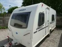 BAILEY ORION 430 2011 MODEL 4 BERTH FIXED BED TOURING CARAVAN