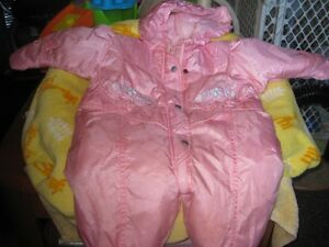 size 6 to 9 months snowsuit