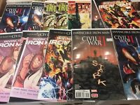 The invincible iron man marvel comics civil war