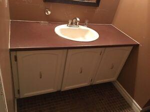 vanité meuble lavabo 54'' - Vanity 54''