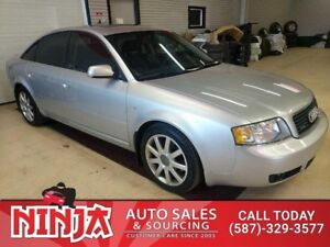 2004 Audi A6 S-LINE Premium Pkg Quatro Twin Turbo Leather