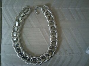 2- silver style Necklaces Windsor Region Ontario image 1