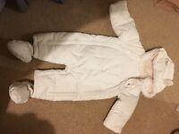 M&S snow suit 6-9months