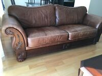 High quality leather couches / living room set